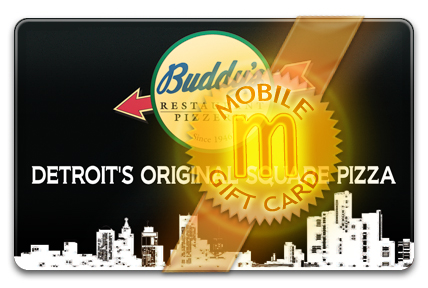 Buddy's Pizza M-Gift Card