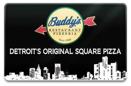 Buddy's Pizza Physical Gift Card